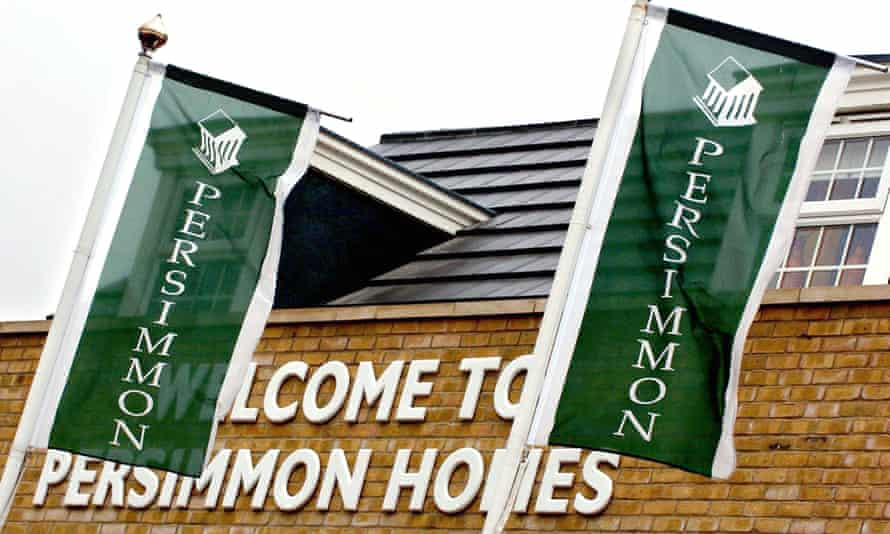 Persimmon homes site
