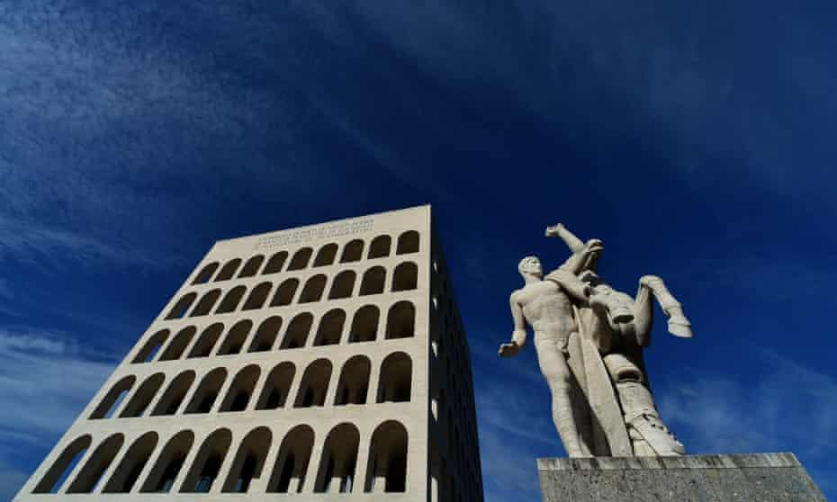 Palazzo della Civilta Italiana, the new home of Fendi.