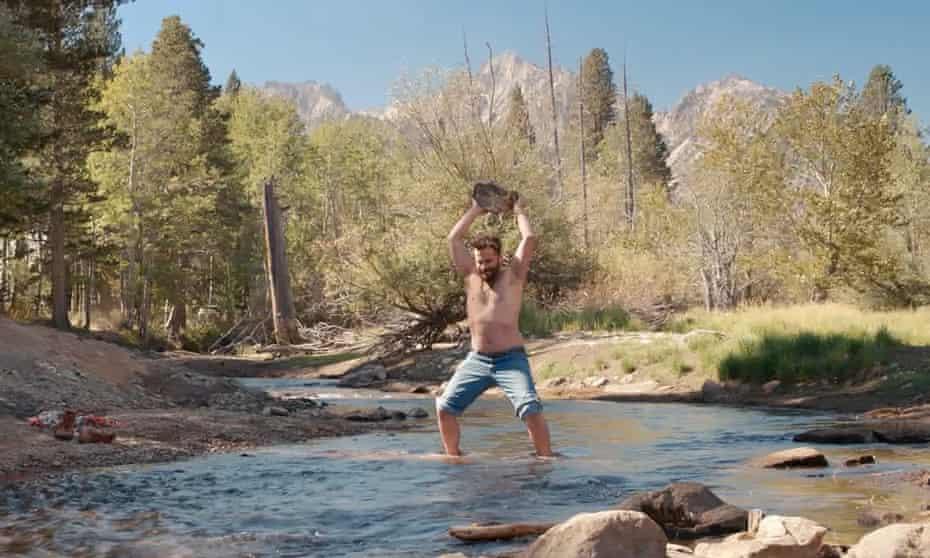 Gone fishing … Jake Johnson.