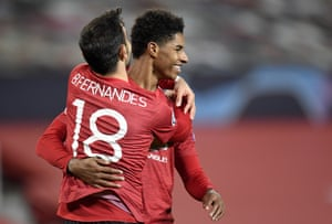 Super subs Marcus Rashford and Bruno Fernandes make the difference