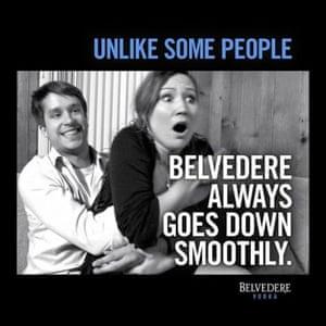 Belvedere Vodka ad 2012 - SA choice