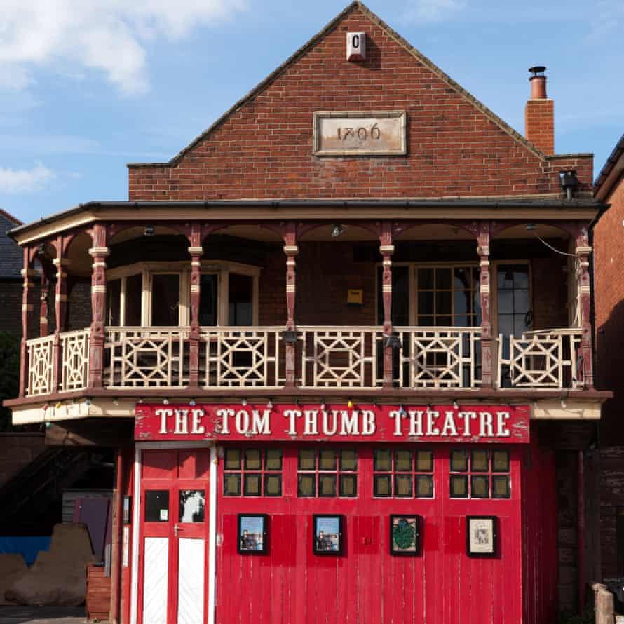 Tom Thumb Theatre, Cliftonville, Margate, KentE7JRGH Tom Thumb Theatre, Cliftonville, Margate, Kent