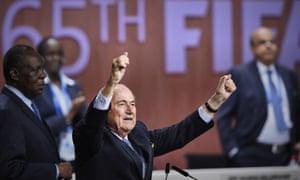Sepp Blatter re-elected president of Fifa