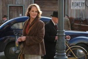 Helen Hunt (as Nancy Campbell) in World on Fire.