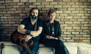 New country duo Shawn Colvin and Steve Earle.