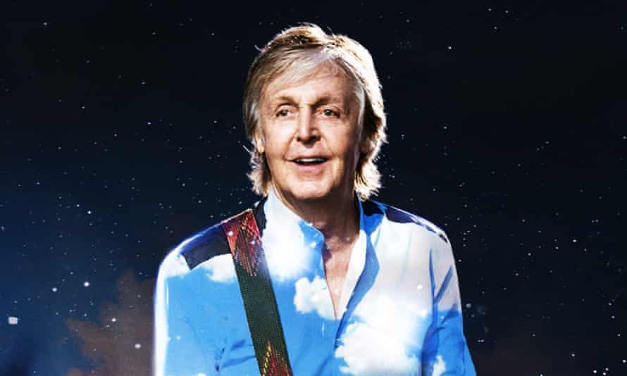 On the long and winding road to Glastonbury ... Paul McCartney.