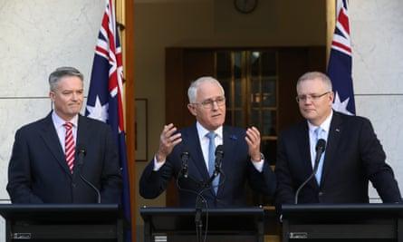 Turnbull, Cormann and Morrison