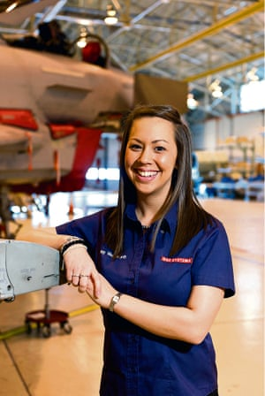 Jenny Manning, additive manufacturing engineering lead at BAE Systems