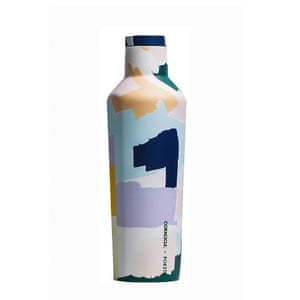 Corkcicle x Poketo canteen water bottle, £35, whitespacehome.co.uk
