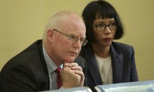 Julian McMahon at an appeal by Andrew Chan and Myuran Sukumaran