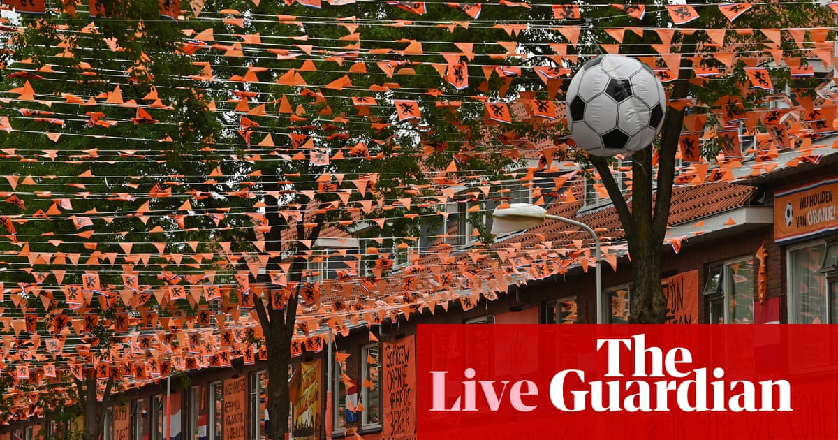North Macedonia v Netherlands: Euro 2020 – live!