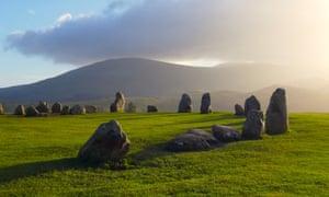 Castlerigg Stone Circle near Keswick, UK.