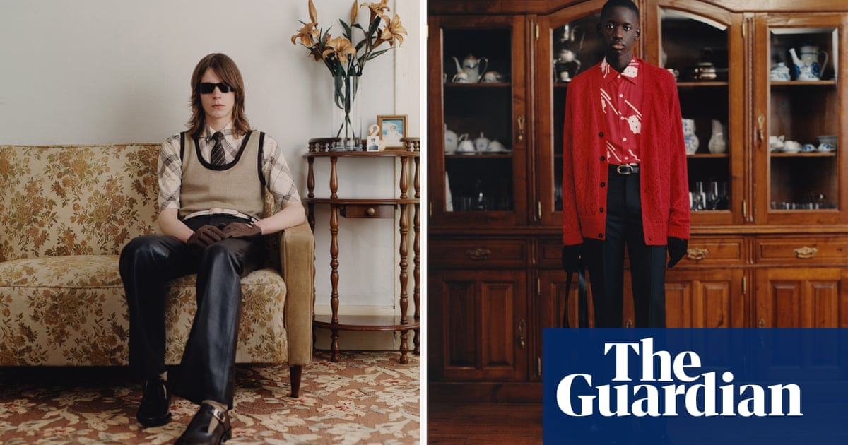 Collaborations Backstage Films And A Pop Up Show Paris Men S Digital Fashion Week In Pictures Fashion The Guardian