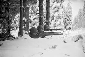 Firing Line, Hürtgen Forest, Germany, December 1944