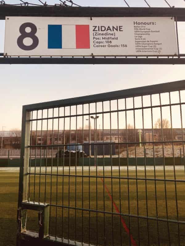 Zidane's pitch.