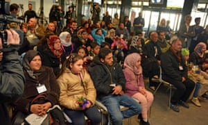 A new group of 40 Syrian refugees arrived at Fiumicino airport, Rome, thanks to 'humanitarian corridors' promoted by the Community of Sant'Egidio, Federation of Evangelical Churches in Italy and Waldesian Table. The new arrivals mostly come from Aleppo, Homs and Damascus and are the first in the new year.