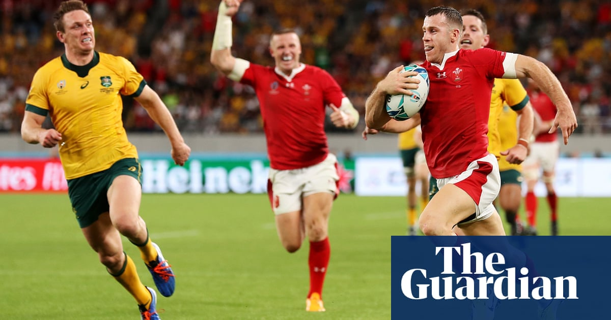 Rugby World Cup: Wales squeeze past Australia, Georgia beat Uruguay – video highlights