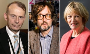 Composite: Andrew Marr, Jarvis Cocker and Joan Bakewell