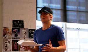 Ash Flanders in rehearsals for Sisters Grimm production of La Traviata for Sydney's Belvoir Theatre (opens 29 August 2015)