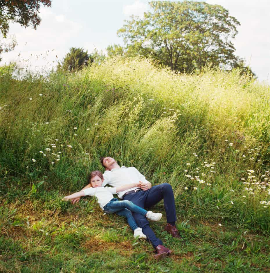 Single Parent Father Tayler Bennett with Tristen