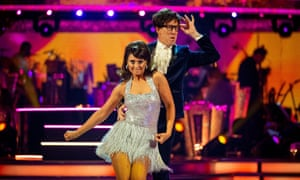 Emma and Anton on Strictly