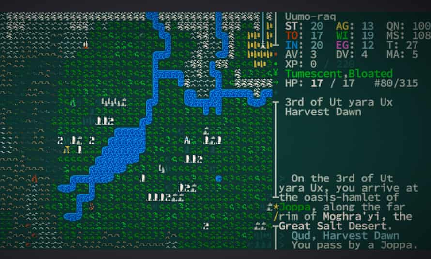 """Caves of Qud is a """"roguelike"""" fantasy game with deep simulation and AI components"""