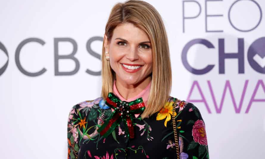 Actor Lori Loughlin was charged with fraud and conspiracy.
