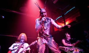 Minneapolis rock act Blue Felix perform live at Reggie's in Chicago.