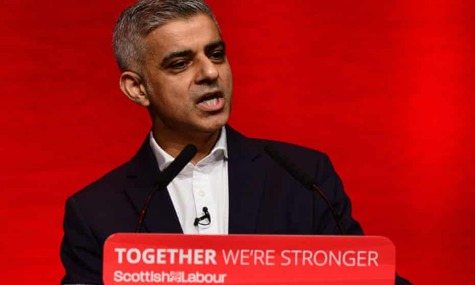 Sadiq Khan at the Scottish Labour Party Conference on 25 February 2017