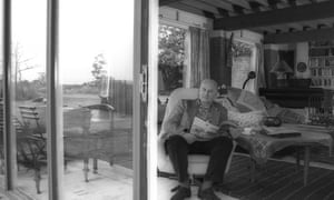 Donald Mitchell at his home in Horham, Suffolk, in 1991. Chapel House had once been the hideaway of Benjamin Britten: Mitchell and his wife, Kathleen, bought it in 1979.