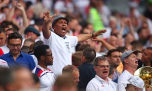 Our ideas of colour, country and class are 'lies': England fans at the World Cup