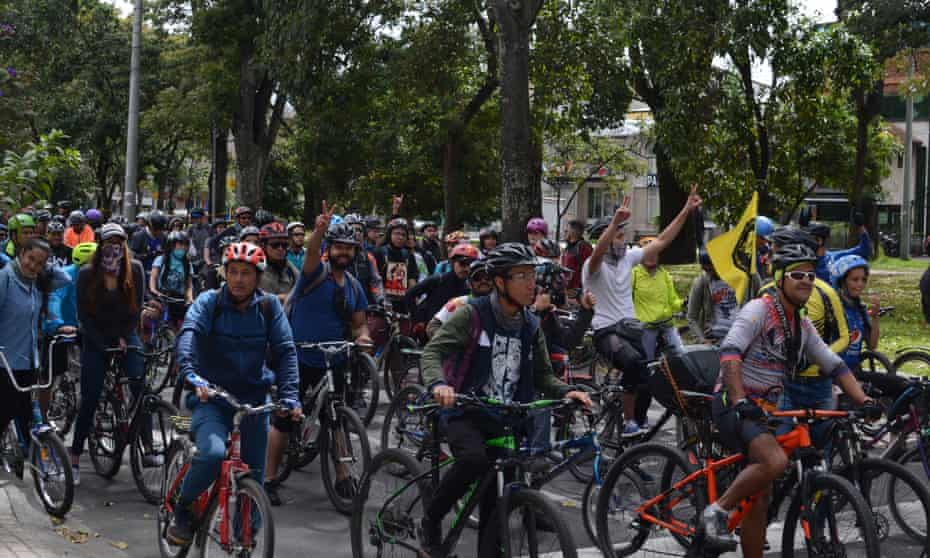 Bogotá is Latin America's cycling capital with more than 10% of its residents using the bicycle as their preferred means of transport.