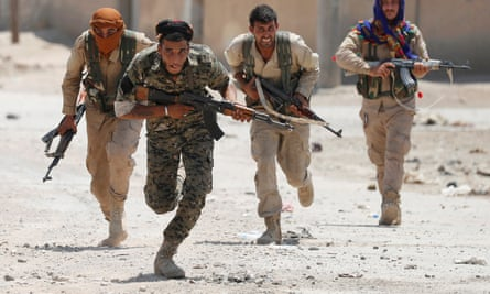 Kurdish fighters will likely soon be redeployed from guarding suspected Isis fighters to frontline positions.