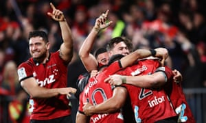 Crusaders celebrate