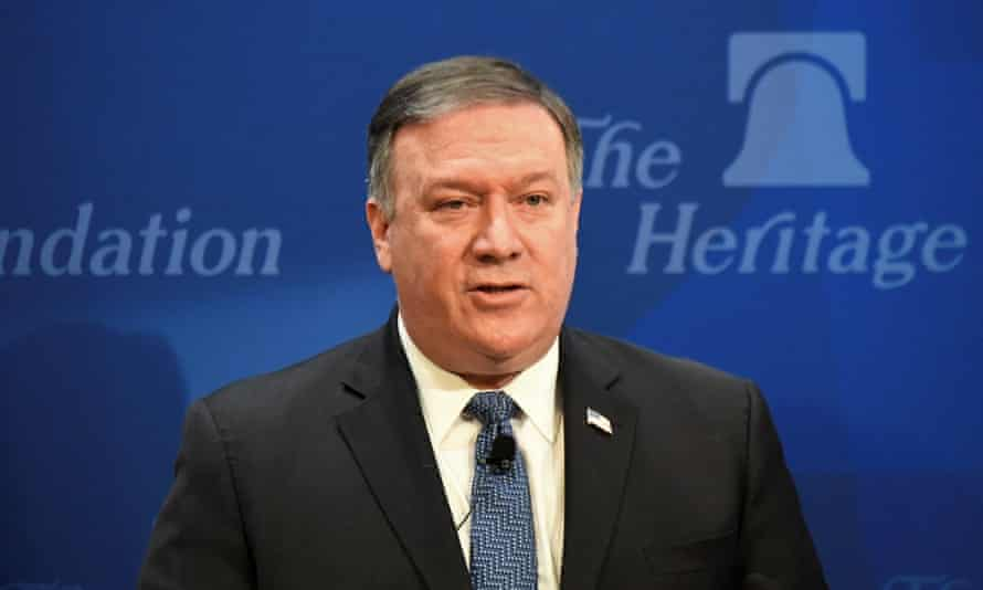 US Secretary of State Mike Pompeo said on Monday: 'Today, the Iranian Quds Force conducts covert assassination operations in the heart of Europe.'