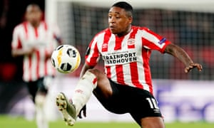 Steven Bergwijn operates off the left flank but can play as a No 10.