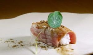Japanese-style tuna at Tunateca Balfegó restaurant