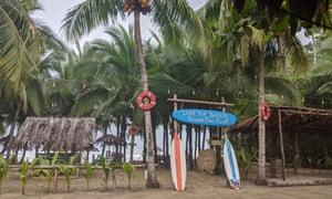 The beach at Puerto Viejo de Talamanca, Costa Rica