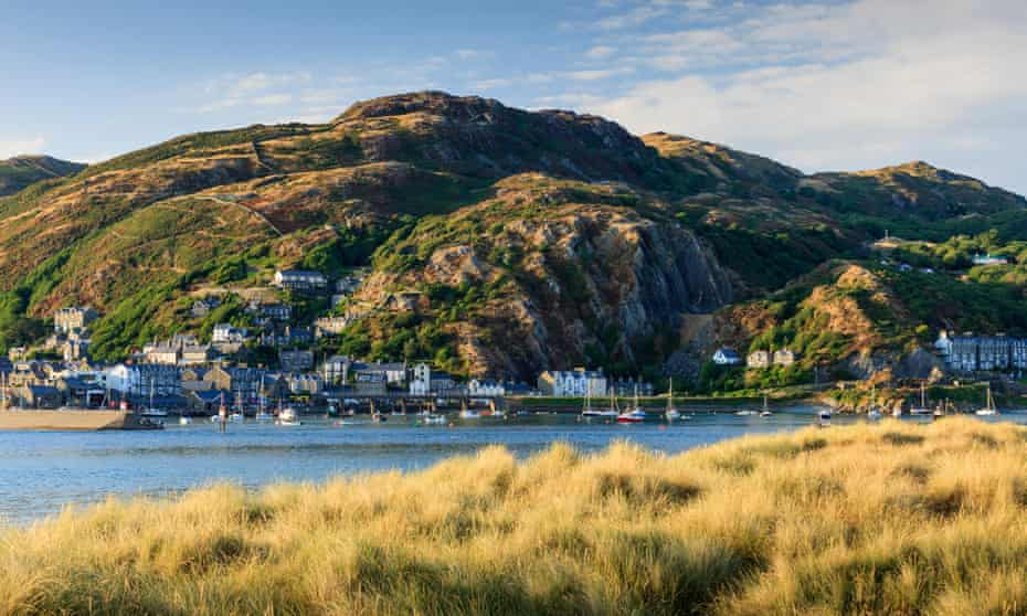 Barmouth in Wales, where Mary Higham from Liverpool went on holiday