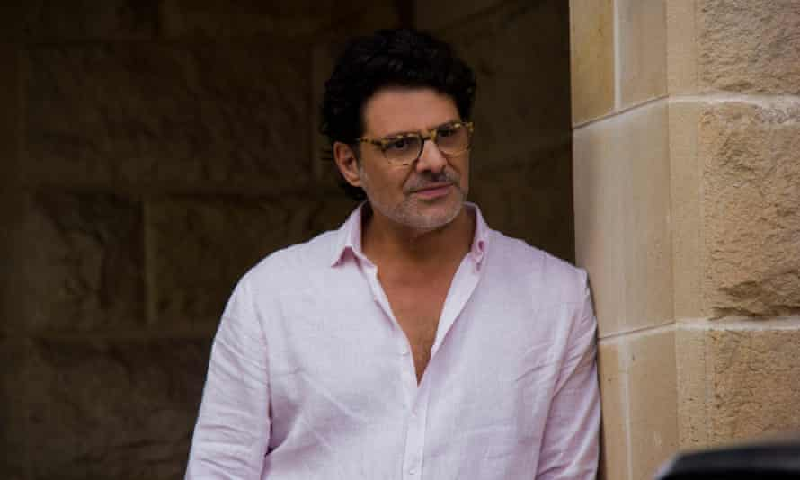 Impenetrable: Vince Colosimo as The Publisher.