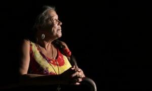 Indigenous activist Vickie Roach