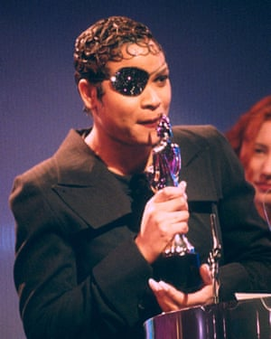 'No one else was wearing anything that crazy' – Gabrielle at the 1994 Brit awards.