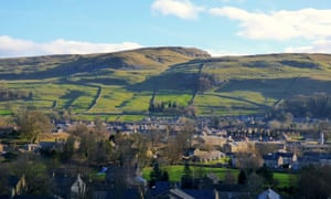 View of Settle, North Yorkshire