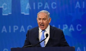 Netanyahu on Tuesday said: 'President Trump has made it clear that his administration will not accept Iran's aggression in the region.'
