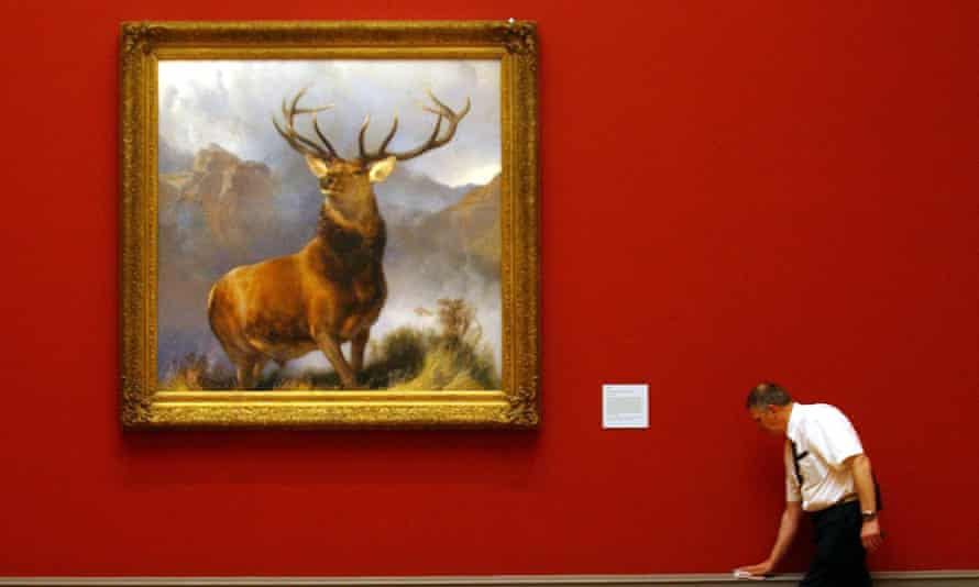Edwin Landseer's Monarch of the Glen at the National Gallery of Scotland
