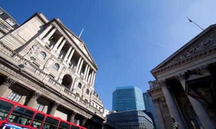 The Bank of England, Threadneedle Street, London