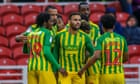 Hal Robson-Kanu strikes late against Middlesbrough to keep West Brom top