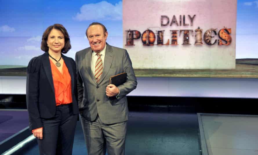 Jo Coburn and Andrew Neil on The Daily Politics show.