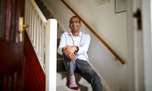 John Thomas, who changed his diet to try and reverse his diabetes, at home in Bangor, north Wales.