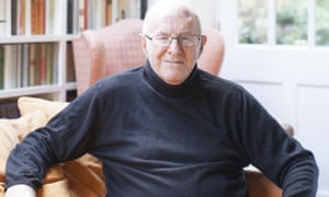 Clive James at his home in Cambridge.